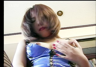 lascivious asian angel in outfit doubleteamed